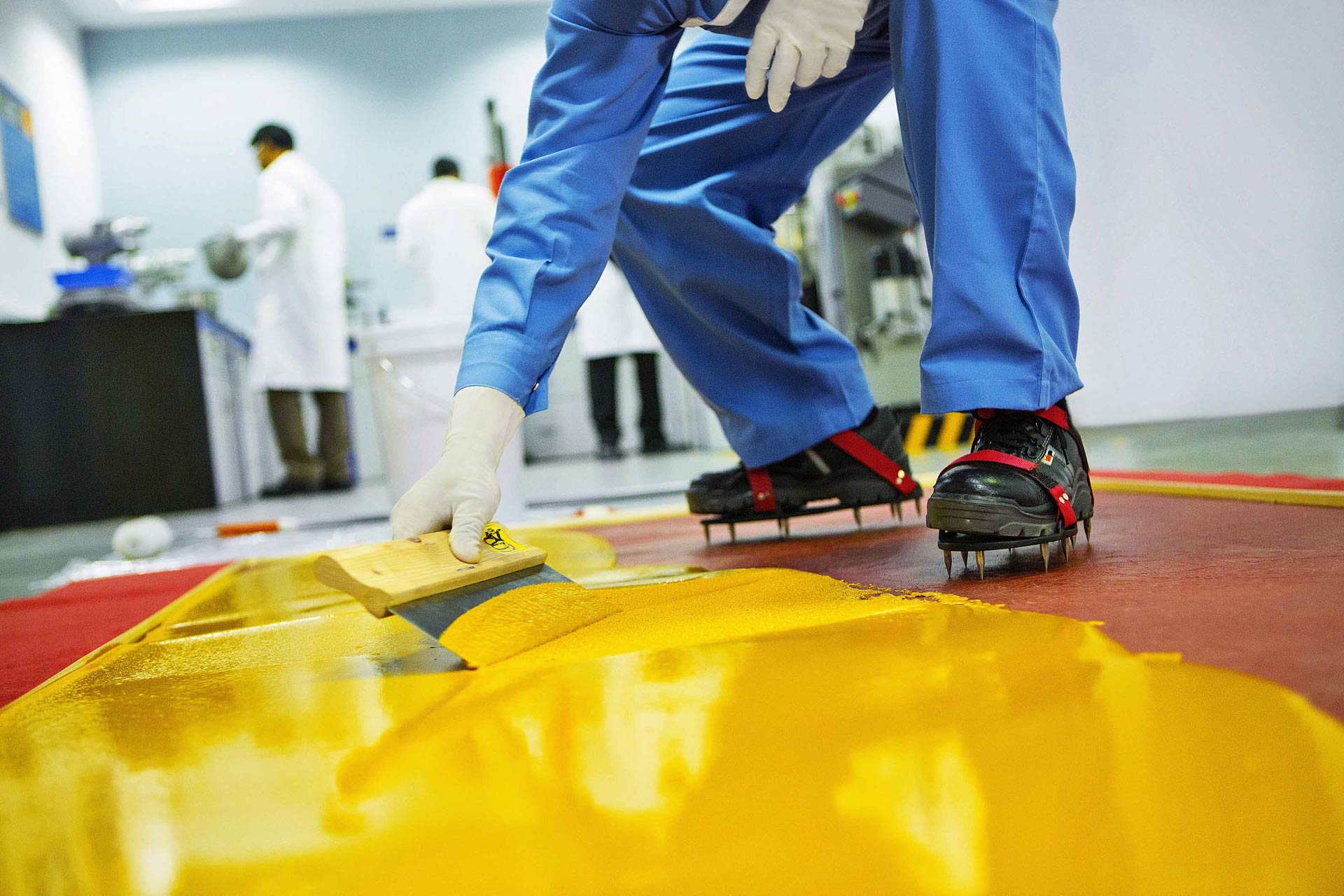 pu self leveling commercial flooring