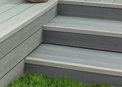 multicolour grey wooden decking